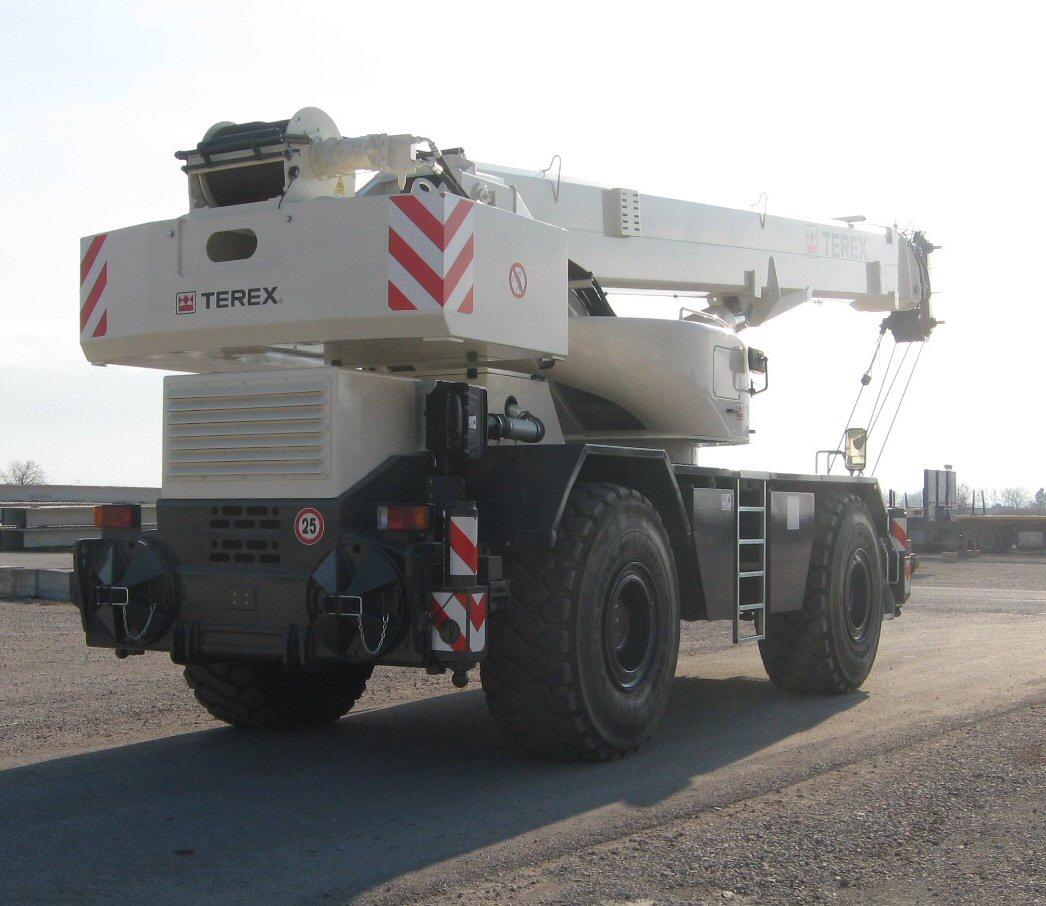 Terex Cranes Parts : Tecno gru terex quadstar